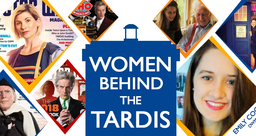 Women Behind The TARDIS: Emily Cook, Doctor Who Magazine