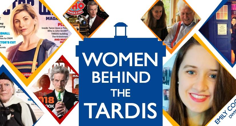 Women Behind The TARDIS: Emily Cook, Doctor WhoMagazine