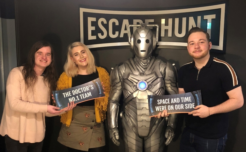 Worlds Collide: The Doctor Who EscapeRoom