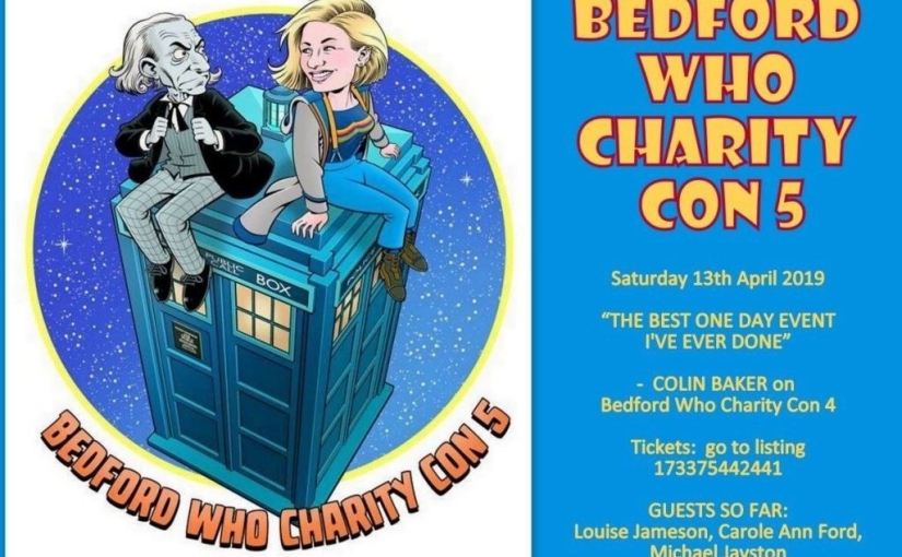 *Ticket Offer* Meet the Ladies of Doctor Who – 10% off Bedford Who CharityCon